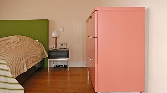 bett mit filz steiger und lankes. Black Bedroom Furniture Sets. Home Design Ideas